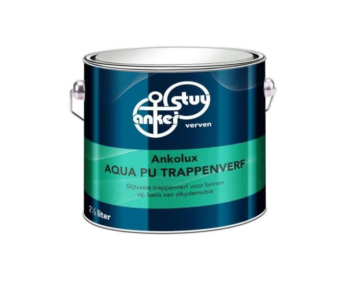 Anker Stuy Anko Aqua PU Trappenverf – RAL 9010
