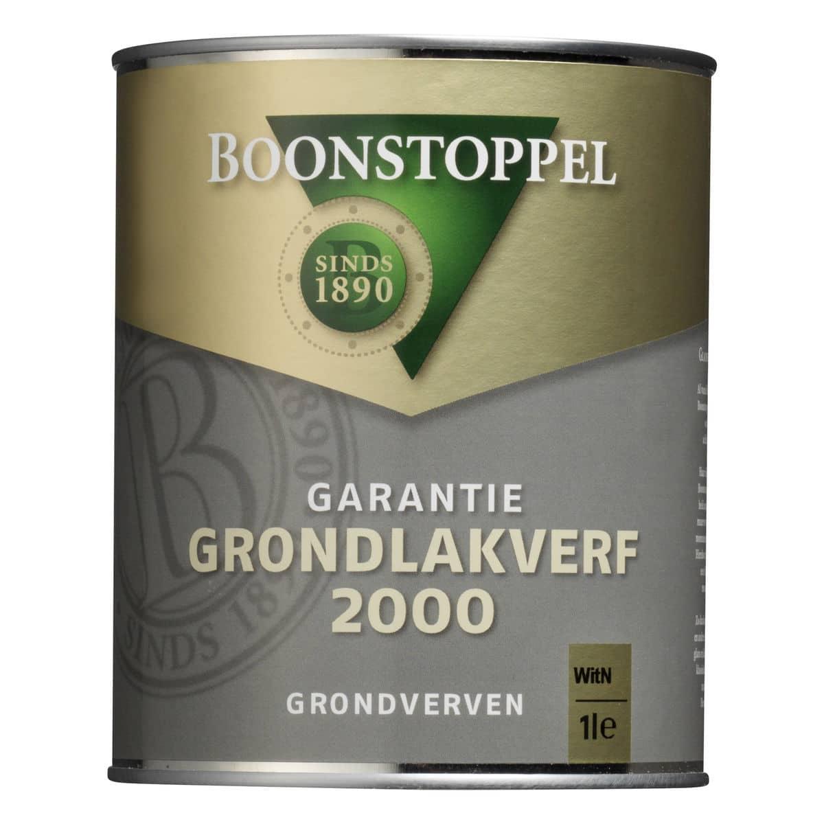 Boonstoppel Garantie Grondlak 2000