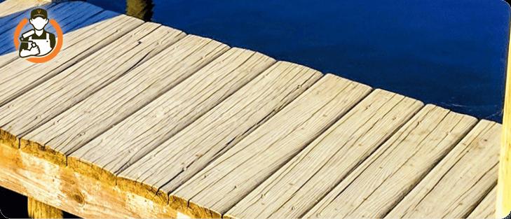 Je vlonder en houten terras schilderen (stappenplan)